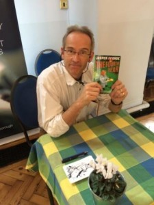 03.10.15 Jasper Fforde at Marlborough Lit festival (1)