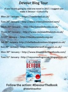 Devour Blog Tour Banner