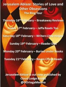 Blog Tour Jerusalem Ablaze