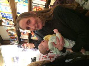 Book blogger extraordinaire Liz Loves books prepares for becoming a grandmother.