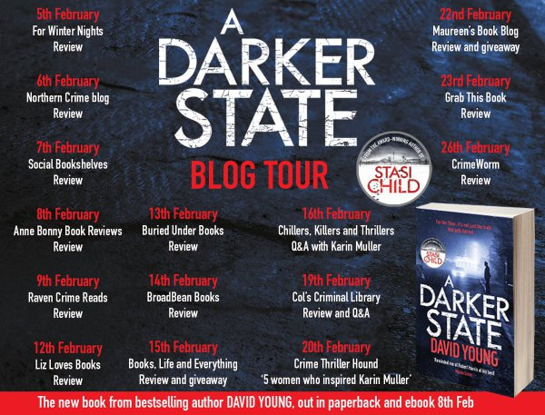 Blog Tour: #ADarkerState