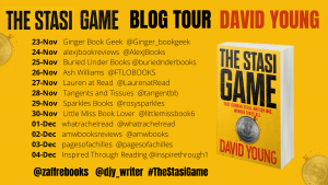 Blog tour: #TheStasiGame